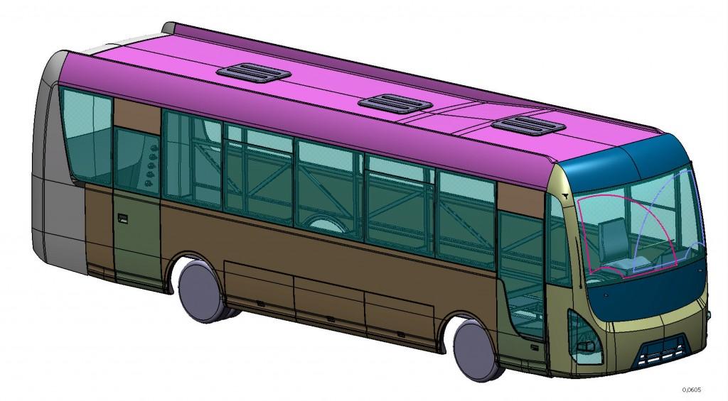 Проектирование обвеса кузова автобуса