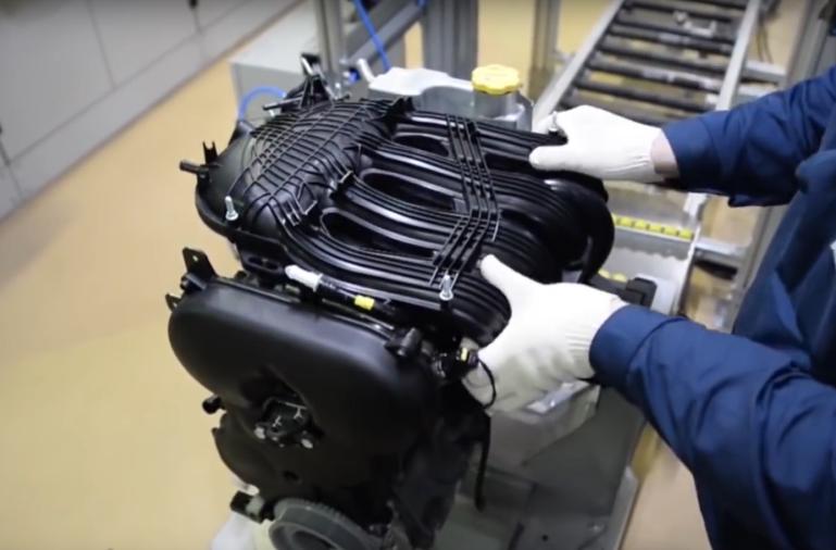 Přijímač motoru vozidel LADA Vesta, LADA XRAY