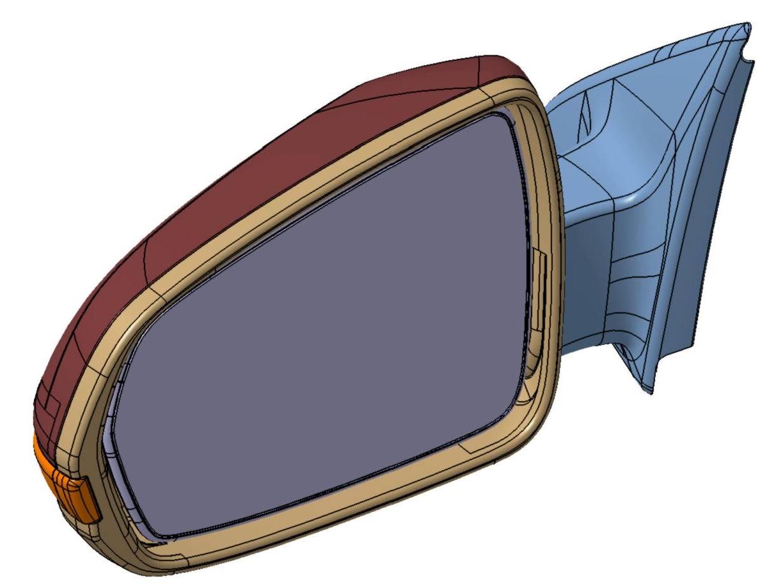 Vnější Zrcátko